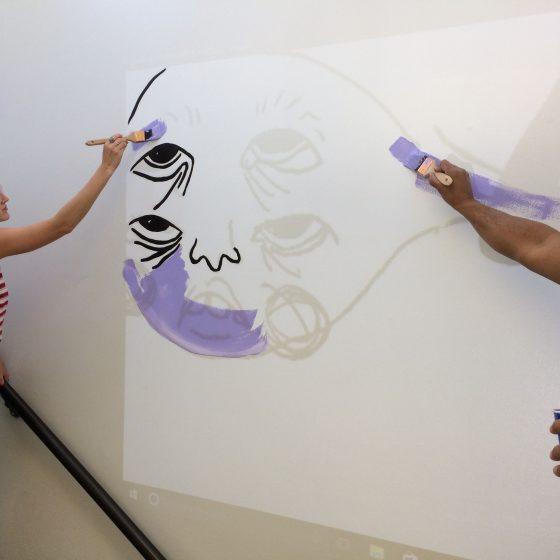 Mural, Lauren