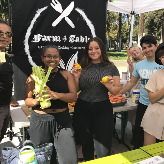 Farm + Table Club Exhibits at Wellness Fair